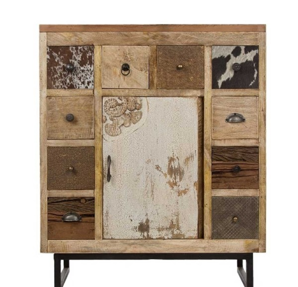 Kommode Vintage Sideboard Industrial Holz Metall My Lovely Home
